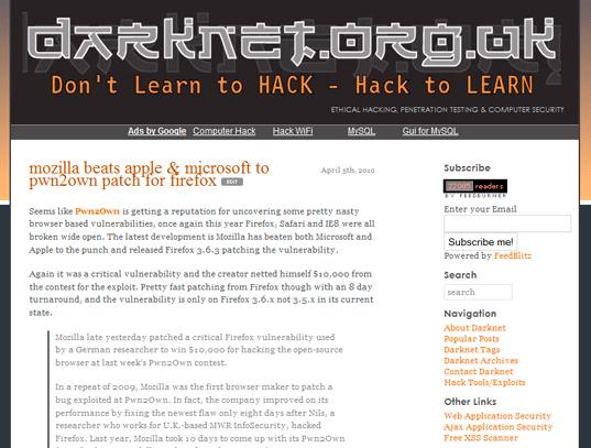 Darknet 2009